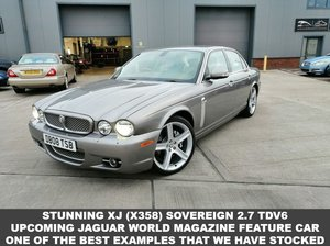 2008 08 JAGUAR XJ 2.7 SOVEREIGN V6 4d 204 BHP