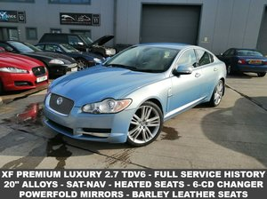 2008 08 JAGUAR XF 2.7 PREMIUM LUXURY V6 4d AUTO 204 BHP For Sale