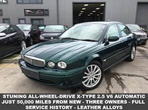 2007 57 JAGUAR X-TYPE 2.5 S V6 AWD 4d AUTO 195 BHP 2008 MY For Sale