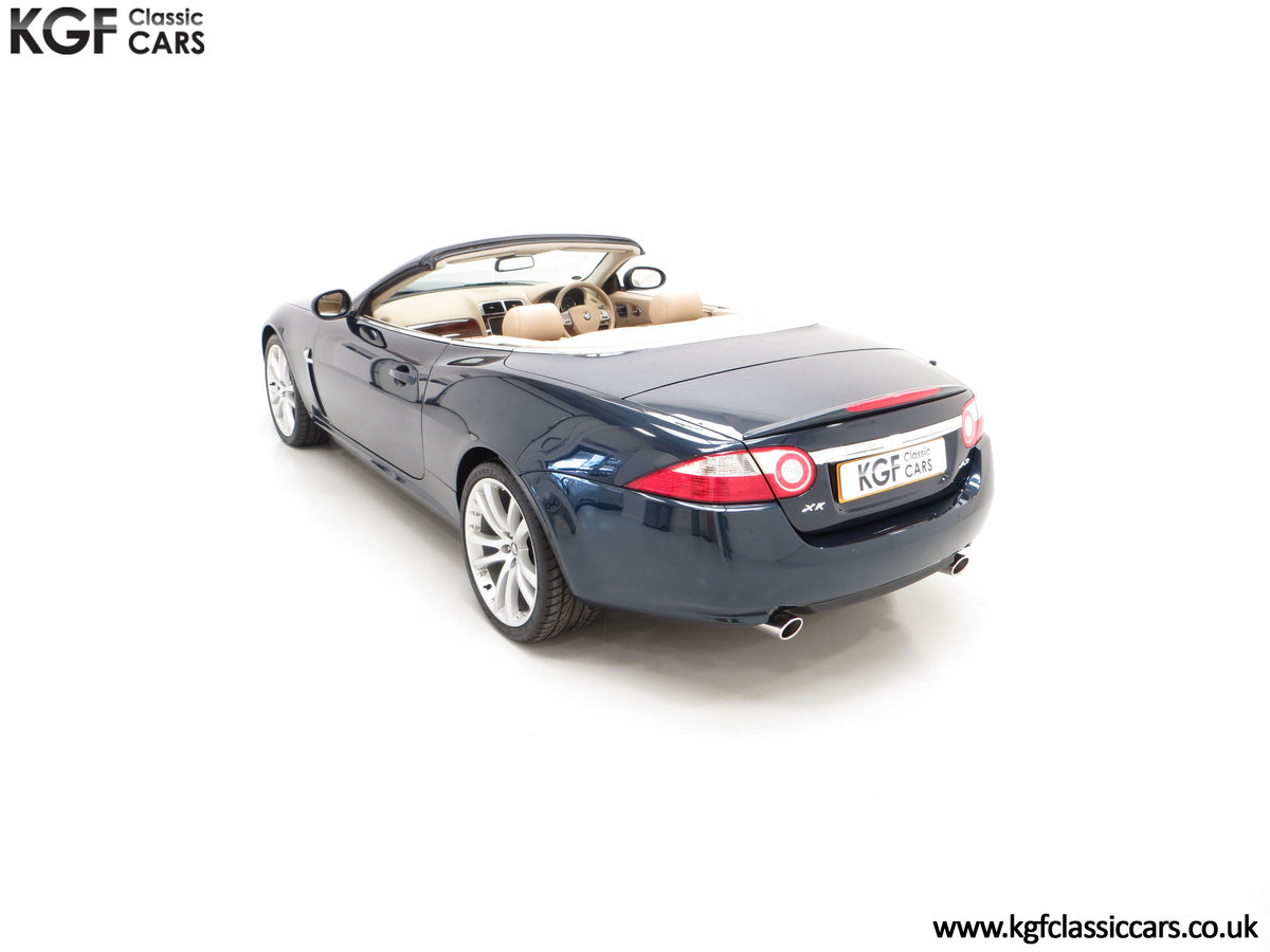 2006 A Jaguar X150 XK 4.2L V8 Convertible with Just 11,869 Miles SOLD (picture 9 of 24)