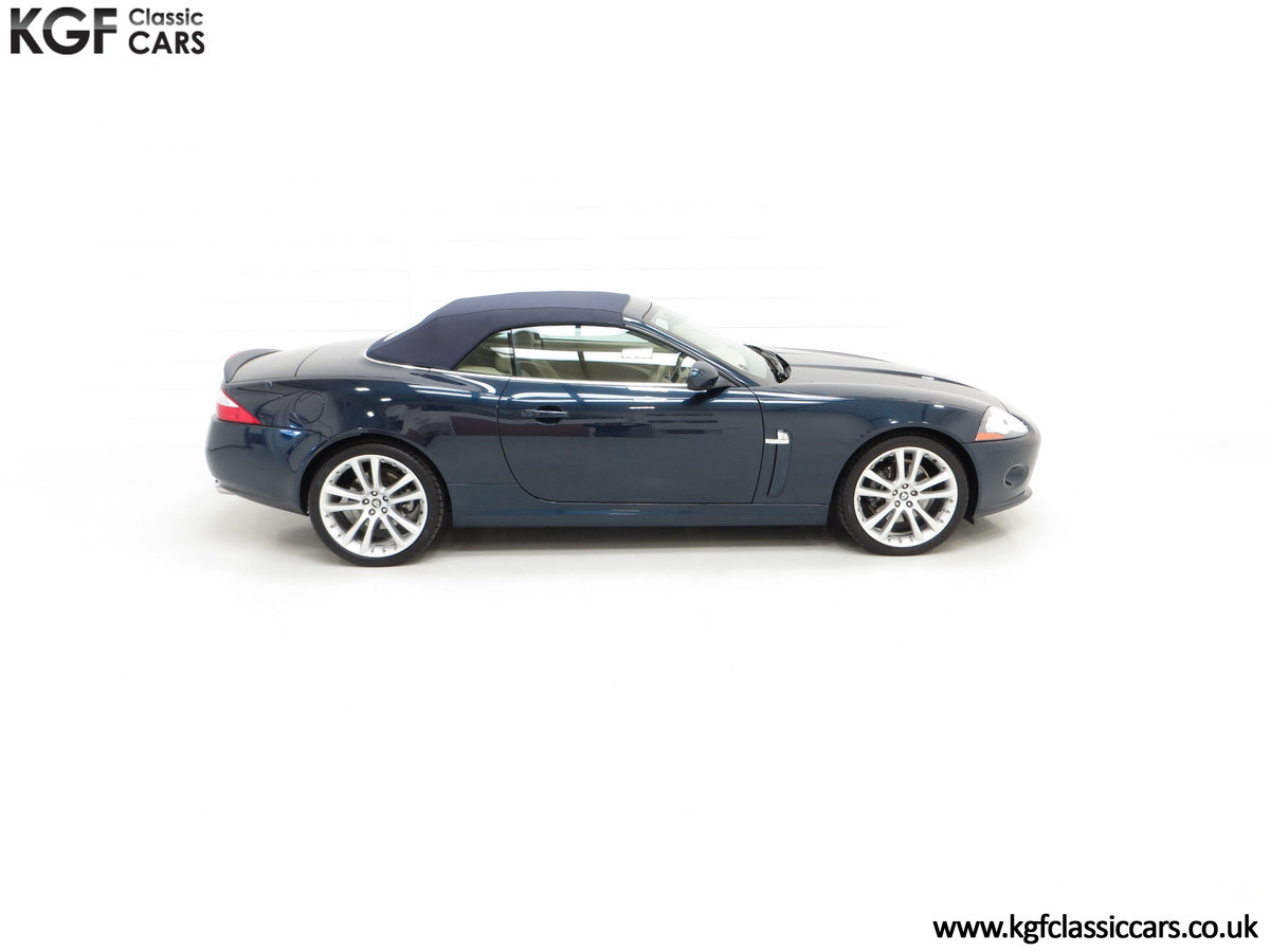2006 A Jaguar X150 XK 4.2L V8 Convertible with Just 11,869 Miles SOLD (picture 14 of 24)