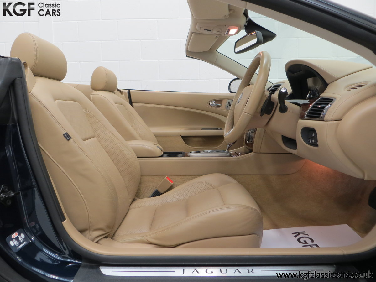 2006 A Jaguar X150 XK 4.2L V8 Convertible with Just 11,869 Miles SOLD (picture 16 of 24)