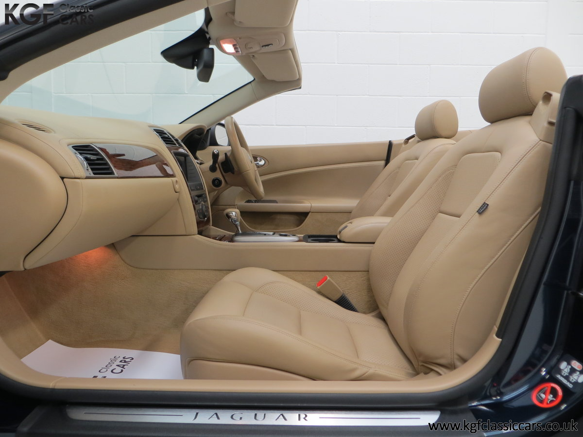 2006 A Jaguar X150 XK 4.2L V8 Convertible with Just 11,869 Miles SOLD (picture 18 of 24)