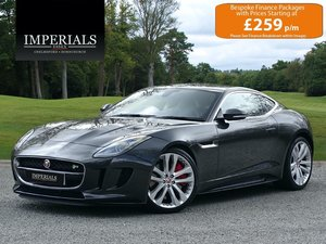 Jaguar  F-TYPE  R 5.0 V8 SUPERCHARGED AWD COUPE EU6 2017 MOD