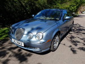 2002 Beautiful Jaguar S Type SE Just 2 Owners From New FSH SOLD