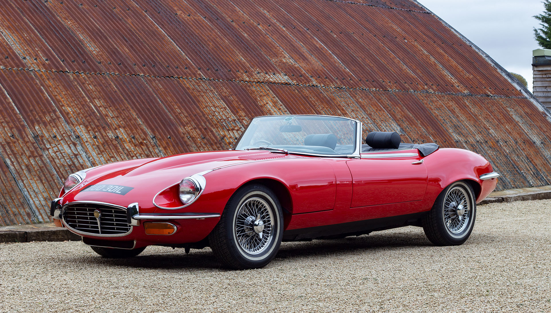 1973 Jaguar E-Type Series 3 V12 Open Two Seater SOLD (picture 1 of 6)