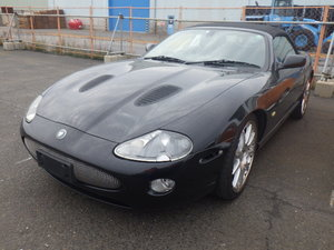 2004 JAGUAR XKR 4.2 SUPERCHARGED CONVERTIBLE ALL BLACK EDITION *  For Sale