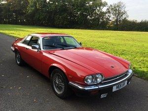 1985 Jaguar XJS HE Auto For Sale by Auction