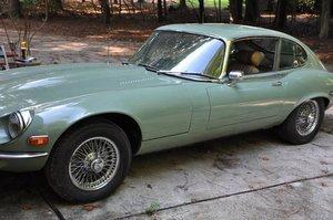 1972 Jaguar Coupe V12 LHD SOLD