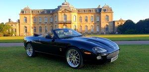 LHD 2004 JAGUAR XKR 4.2, CONVERTIBLE, UK REG LEFT HAND DRIVE For Sale