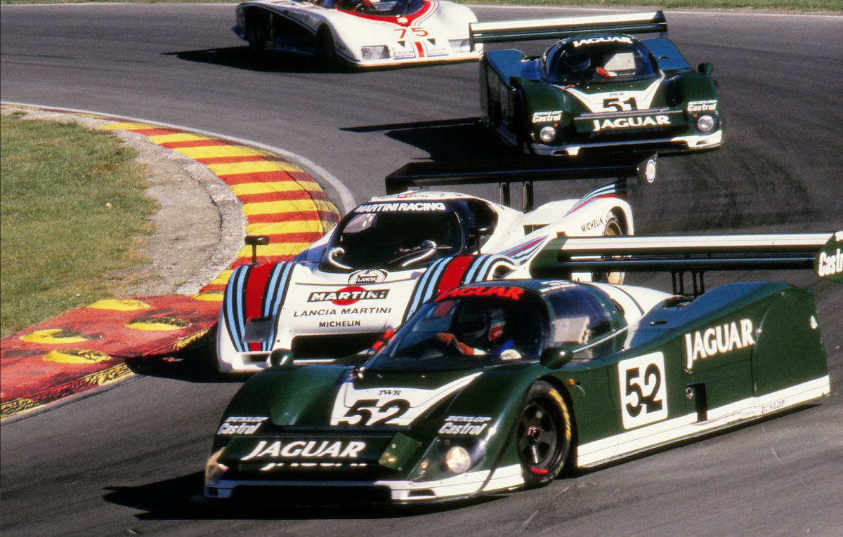 1985 Jaguar XJR6-285 Full works podium winner in debut race For Sale (picture 1 of 6)