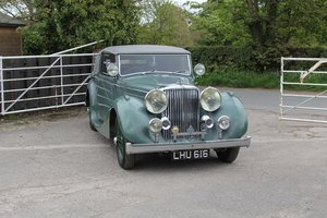 1948 Jaguar MkIV 3.5 DHC, Timewarp Condition For Sale