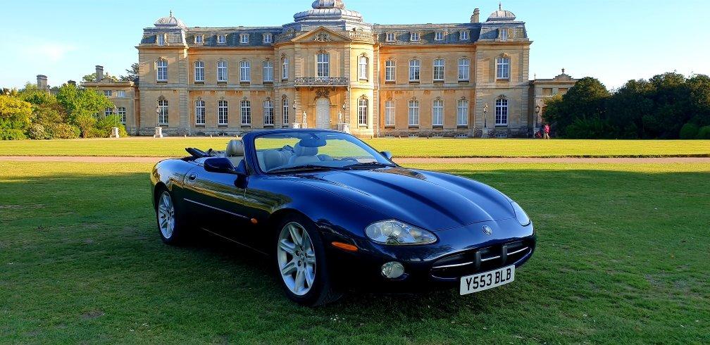 Original 2001 LHD Jaguar XK8 4.0 V8, LEFT HAND DRIVE For Sale (picture 1 of 6)