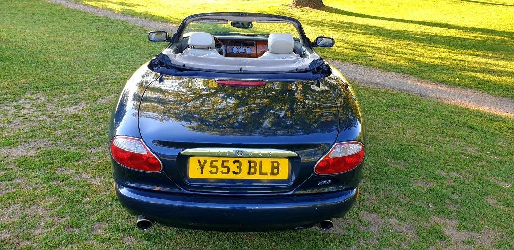 Original 2001 LHD Jaguar XK8 4.0 V8, LEFT HAND DRIVE For Sale (picture 3 of 6)