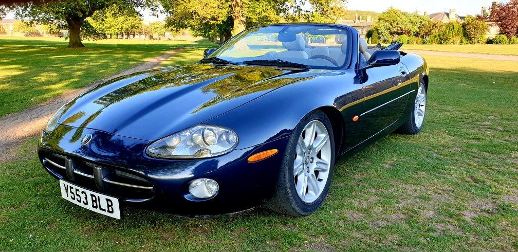 Original 2001 LHD Jaguar XK8 4.0 V8, LEFT HAND DRIVE For Sale (picture 4 of 6)