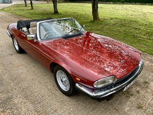 1989 Jaguar XJS Convertible V12 HE For Sale