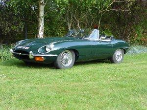1969 Jaguar E Type 4.2 Roadster