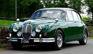 1961 Jaguar 3.8 Mark 2. Manual overdrive. For Sale