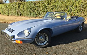 1973 JAGUAR E TYPE V12 ROADSTER MANUAL. UK CAR