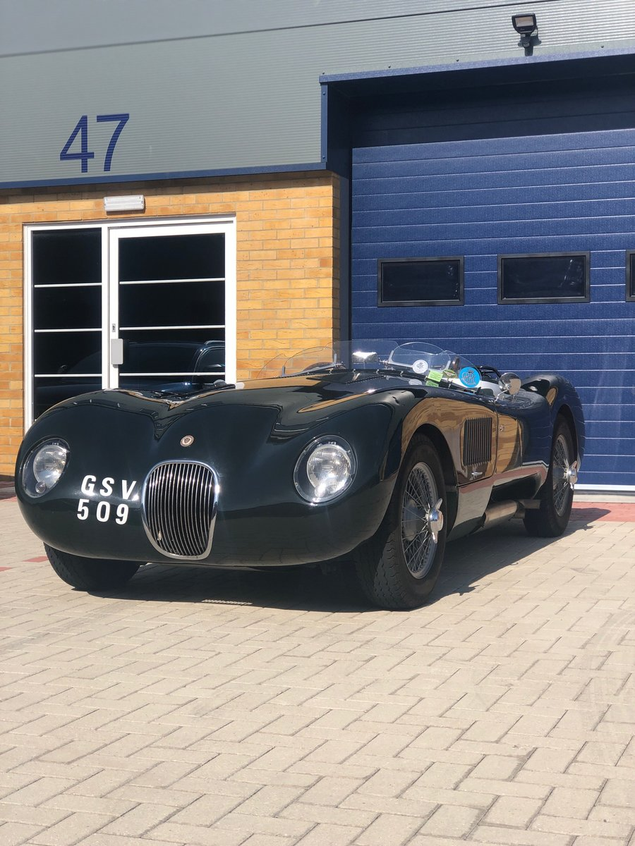1956 ex Pebble Beach Jaguar Ctype For Sale (picture 1 of 5)