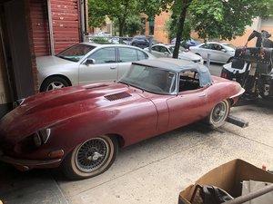 For sale 1969 Jaguar Series 2 parts car. SOLD