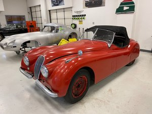 #23327 1953 Jaguar XK120 Roadster  For Sale