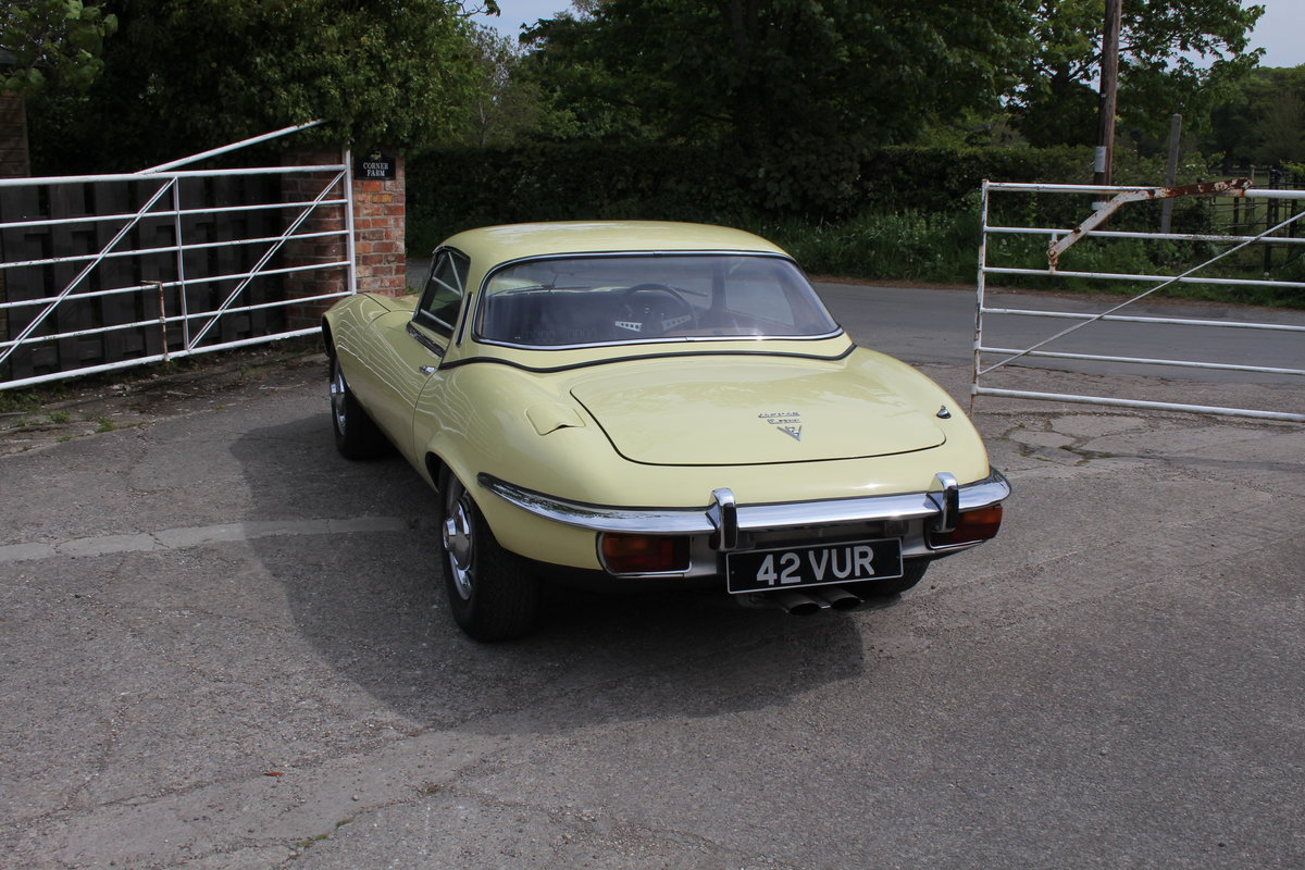 1973 Jaguar E-Type Series III V12 Roadster, 9,920 miles, 1 owner For Sale (picture 4 of 24)