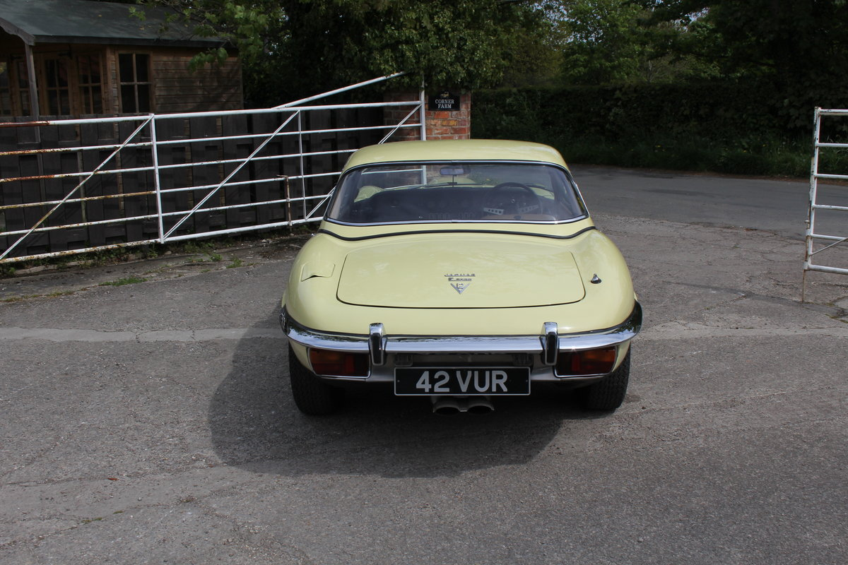 1973 Jaguar E-Type Series III V12 Roadster, 9,920 miles, 1 owner For Sale (picture 5 of 24)