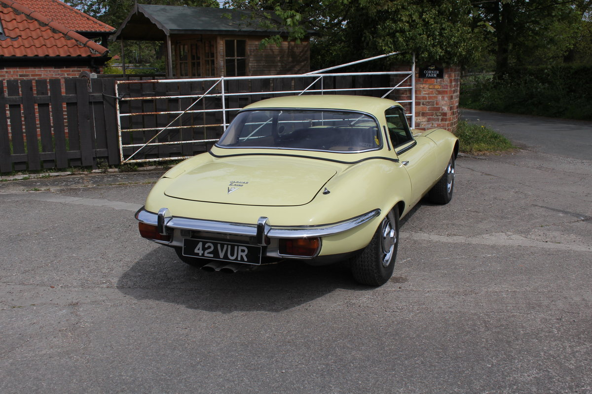 1973 Jaguar E-Type Series III V12 Roadster, 9,920 miles, 1 owner For Sale (picture 6 of 24)