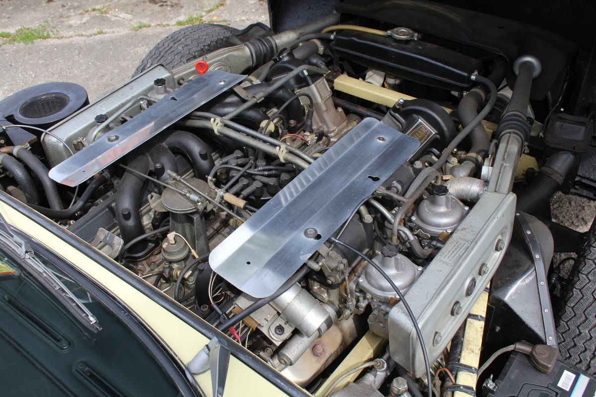 1973 Jaguar E-Type Series III V12 Roadster, 9,920 miles, 1 owner For Sale (picture 13 of 24)