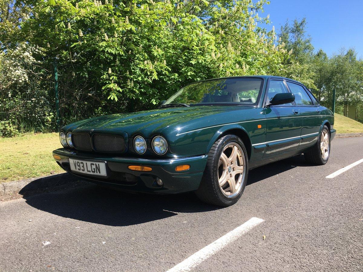 2000 Jaguar XJR 376BHP V8 Supercharged Rare Colour For Sale (picture 1 of 6)