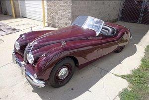 1955 Jaguar xk140 roadster full restoration