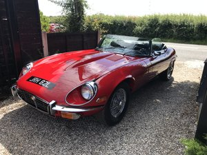 1973 Jaguar e-type convertable v12 For Sale