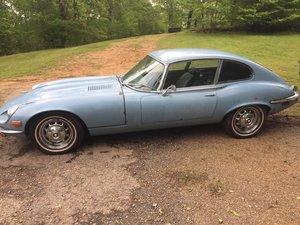 1971 Jaguar V12 Auto coupe