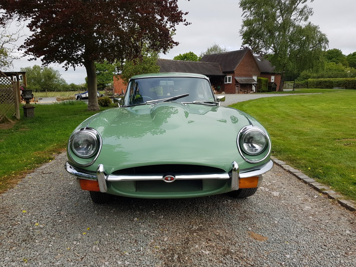 1969 Absolutely stunning Jaguar E Type, 4.2 Manual Series 2 2+2. For Sale (picture 2 of 6)