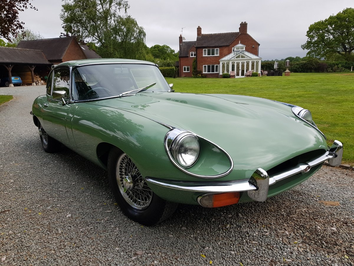 1969 Absolutely stunning Jaguar E Type, 4.2 Manual Series 2 2+2. For Sale (picture 3 of 6)