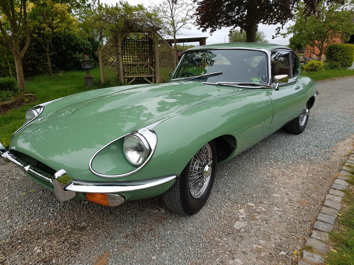 1969 Absolutely stunning Jaguar E Type, 4.2 Manual Series 2 2+2. For Sale (picture 4 of 6)