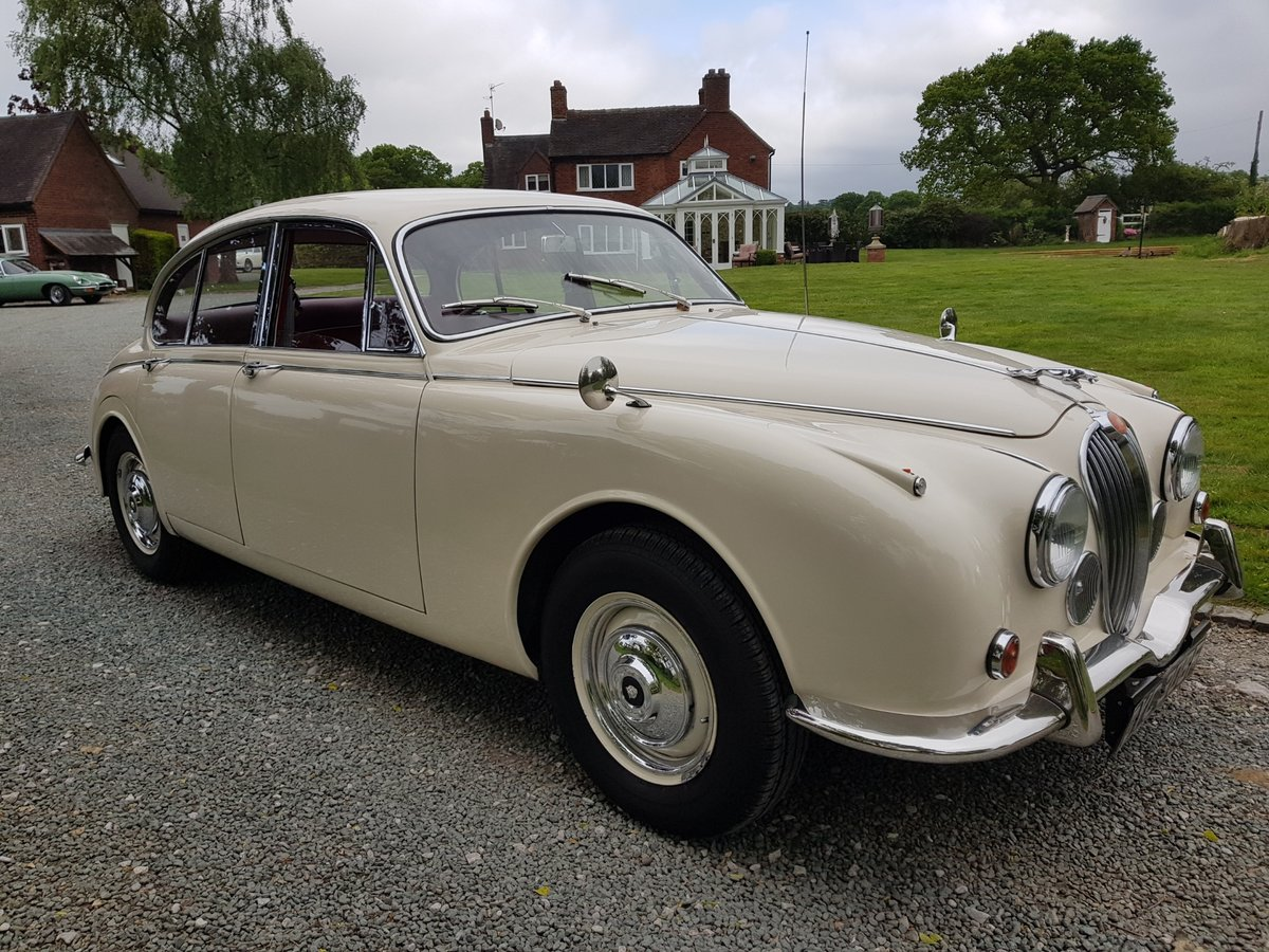 1967 Stunning MK 2 3.4 Jaguar in Old English White SOLD (picture 1 of 6)
