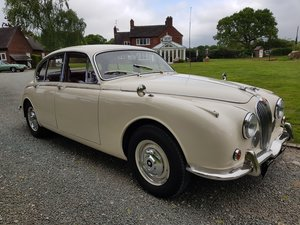 Picture of 1967 Stunning MK 2 3.4 Jaguar in Old English White SOLD