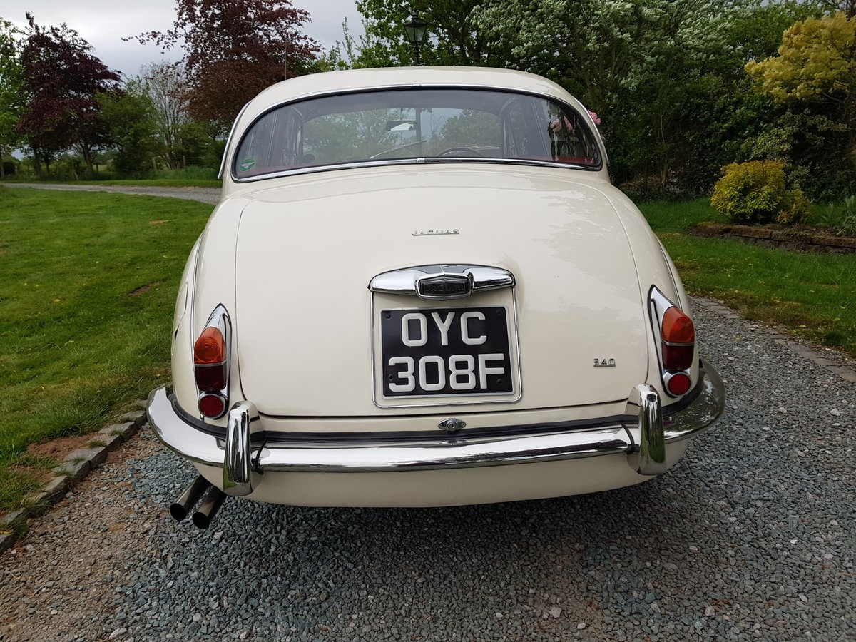 1967 Stunning MK 2 3.4 Jaguar in Old English White SOLD (picture 5 of 6)