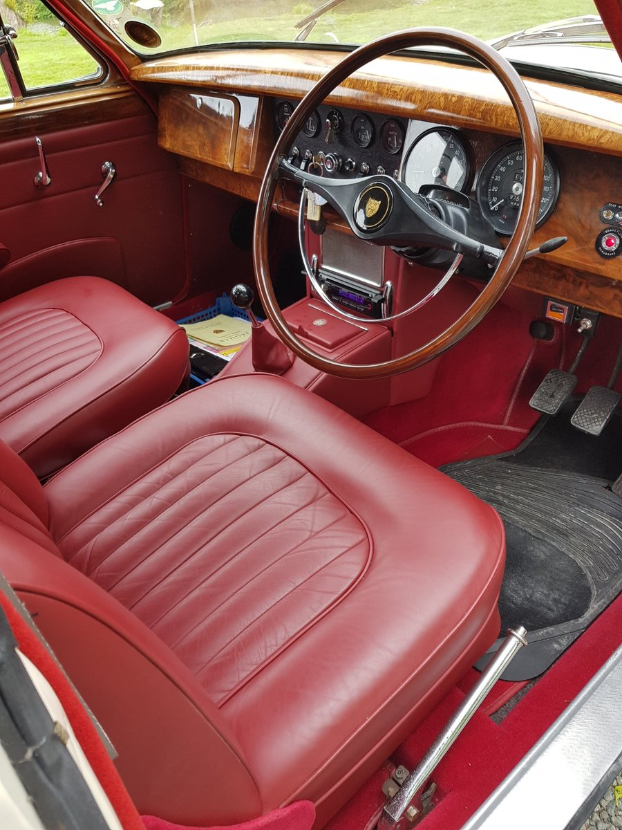 1967 Stunning MK 2 3.4 Jaguar in Old English White SOLD (picture 6 of 6)