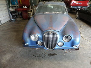 1966 LHD Jaguar S Type for Restoration     (Prov. Sold)