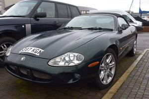 1998 Jaguar XK8 convertible 30/5/20 SOLD by Auction