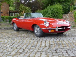 1969 Jaguar E Type 4.2 Roadster