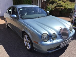 2002 Jaguar S Type R V8 supercharged 30/05/30 SOLD by Auction