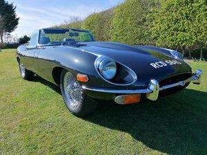 1969 Jaguar E-Type S2 4.2 Lhd Roadster For Sale