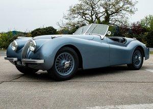 1950 Jaguar XK120 Roadster For Sale by Auction