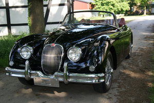 1961 XK 150 DHC 3.8 -BW- the last one  of  209 Cars