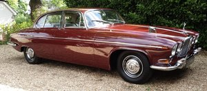 1964 Jaguar MK10/420G Regency Red