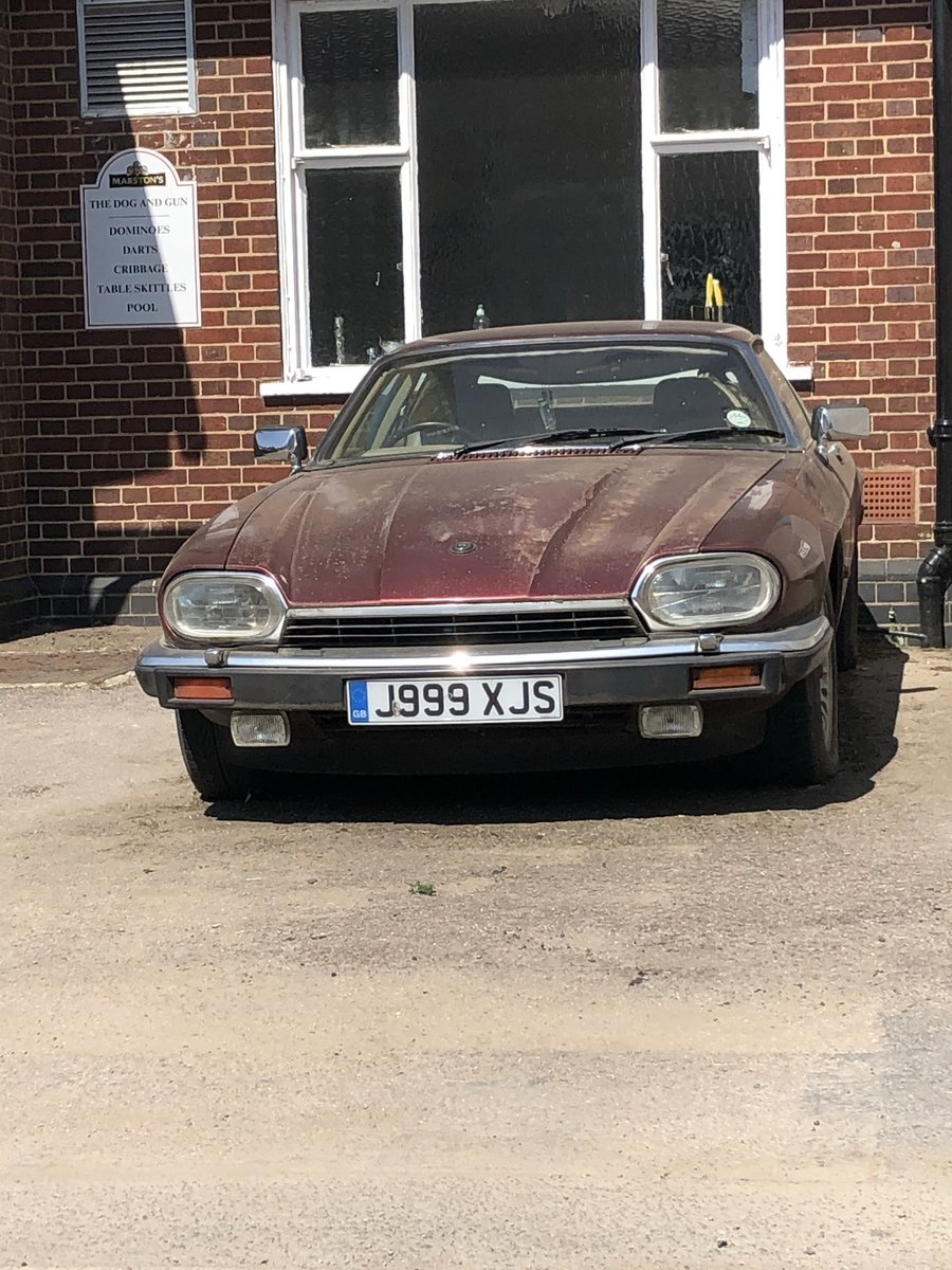 1991 Jaguar XJS  RARE NUMBER PLATE: J999 XJS For Sale (picture 1 of 5)